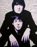 Lennon and McCartney by monkeyboydean