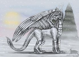 Dragon of Winter by Ravenfire5