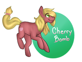 Cherry Bomb~! (commission) by Tangyowl