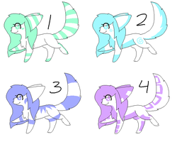Adoptables~ by ShimooFox