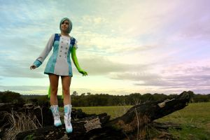 Eureka seven by AstroKerrie