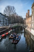 The canals of Cambridge II by JuanChaves