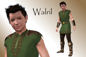 Walril Character by BarbaraTeebrook