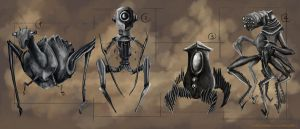 insect robots by capottolo