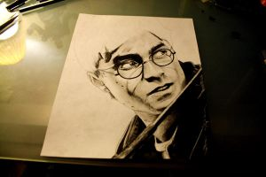 Harry Potter: Harry WIP 2 by artbyjoewinkler