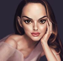 Natalie Portman by jiangming