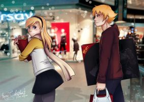 Christmas Shopping by amy-m