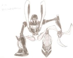 Prowl Sketch for Spirit-of-Laharah by imaphantomfan