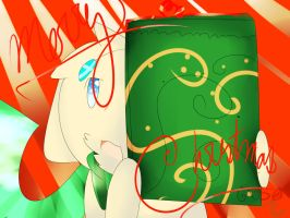 Christmas gift for xVivywolfx by Silver-Chimest