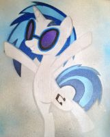 Surprise! Its Vinyl Scratch by SCARFI5H