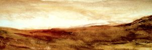 Dry Desert Touches Sky by Philliewig