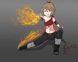 Fire bender Me :D by Tweeter72