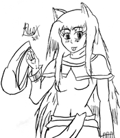 Spice and Wolf-Horo by AlceX
