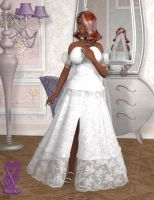 Chiara's Wedding Dress by Jenabii