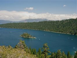 Emerald Bay, Lake Tahoe by lark-song