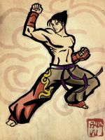 Jin Kazama by weaponlogic