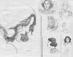 Lin Beifong sketch dump by blackbetha