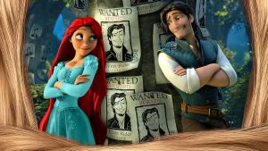 Tangled - 1920x1080 (Special Red HD) by CoGraphiC