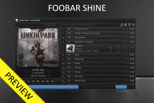Shine - Foobar PREVIEW by raknor