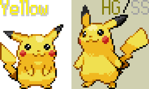 Yellow Pikachu Revamp by RPD490