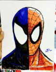 Spider-Man Black and Red by thEbrEEze