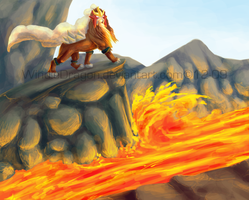 Volcano King by WindieDragon