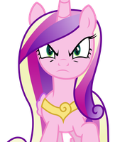 Angry Deceptive Cadance by TheShadowStone