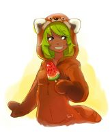 Amalia cute Panda by Fenix-Dream