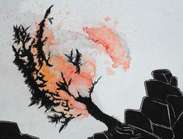 Tree Conflagration by sccurran