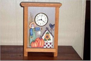 Wooden Clock by didi1959