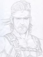 Snake From Sons Of Liberty by thewarlockplayer