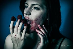 raspberries by SeparateFromTheHead