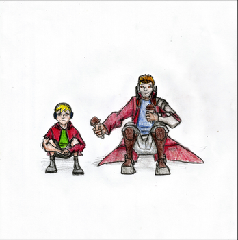Starlord and OC request by Newworlds117