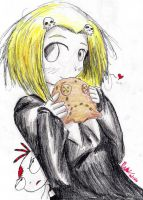 Lenore's cookie by hewhowalksdeath