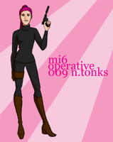 MI6 Operative Tonks by Rotae