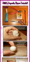 + Cupcake Charm Tutorial + by pinknikki