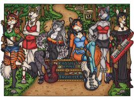 Cassie's Band - The Traveller by kalika-futago