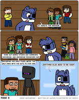 Dark Herobrine - 005 by The-Greys