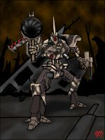 BattleMech 1.5 Colored by necrophadian