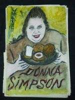 DONNA SIMPSON 1 - painted by DYKHAZER