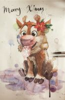 Baby Sven by cliochuangtiger