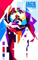 Johnny depp in wpap-edho by edhoartwork