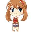 F2U May pixel doll- Click me! by Reaper145
