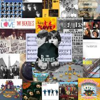 The Beatles Collage by Kitsune-Shingami