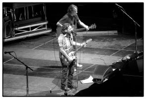 Eddie Vedder and Stone Gossard by jdmimages