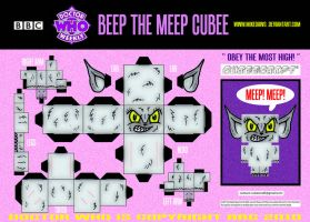 Doctor Who - Beep Cubee by mikedaws