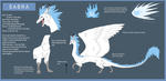 Sabra dragon reff 2012 by MayhWolf
