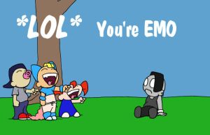 You Are EMO by Patches67