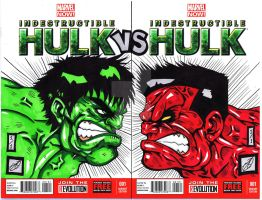 Hulk Vs Hulk Remark by darkartistdomain