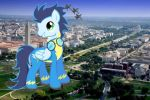 A walk on the mall by silverbrony97